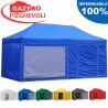 Gazebo EASY 6x3m - Blu