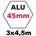 Gazebo 3x4,5m ALU 45