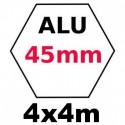 Gazebo 4x4m ALU 45