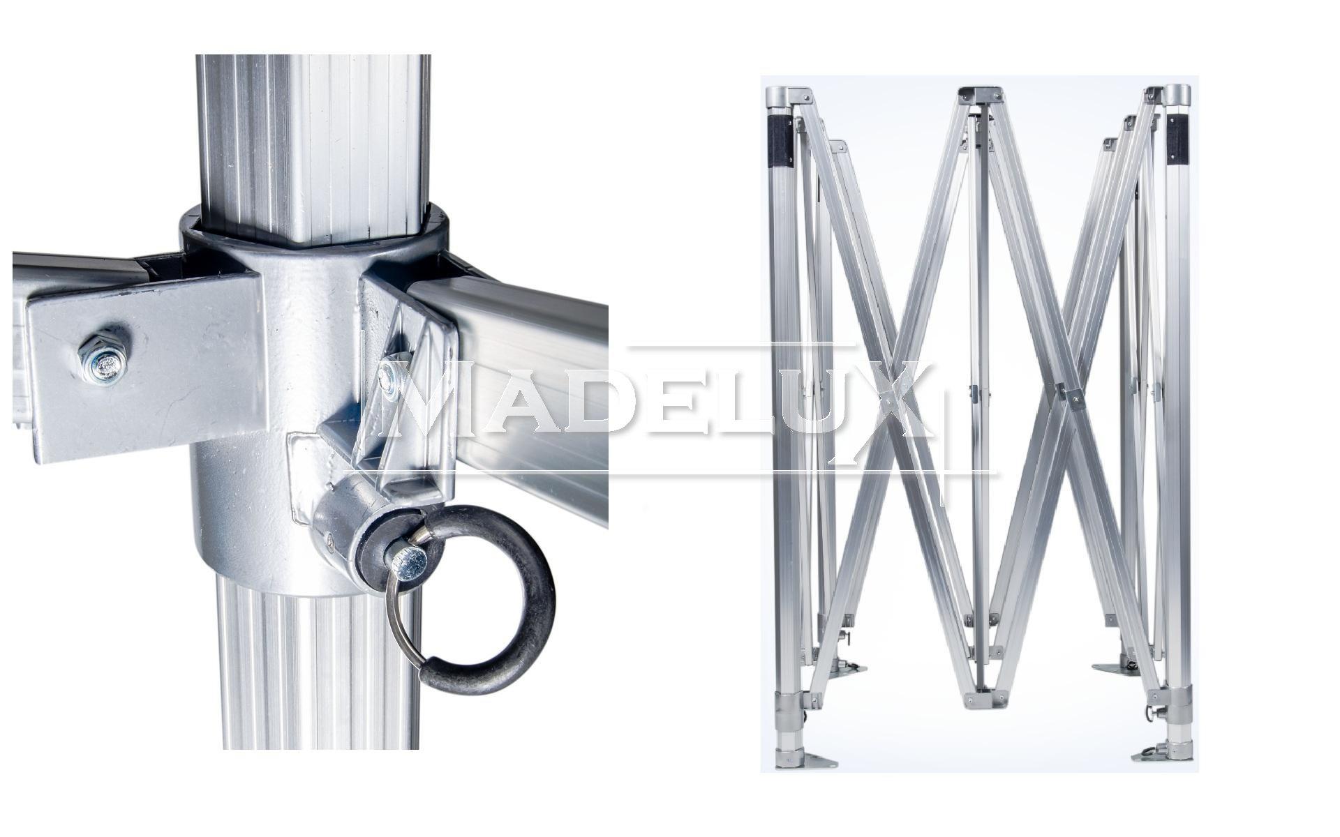 struttura alluminio gazebo pieghevole